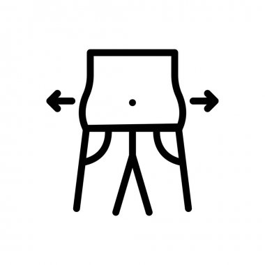 Belly icon for website design and desktop envelopment, development. Premium pack. icon