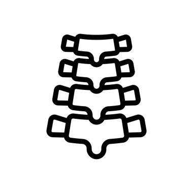Backbone icon for website design and desktop envelopment, development. Premium pack. icon