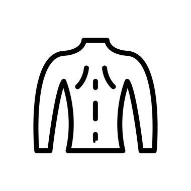 Man body icon for website design and desktop envelopment, development. Premium pack. icon