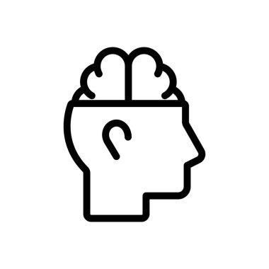 Brain icon for website design and desktop envelopment, development. Premium pack. icon