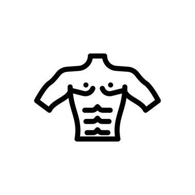 Bodybuilder icon for website design and desktop envelopment, development. Premium pack. icon