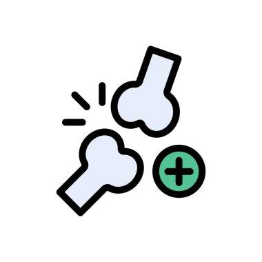 Bone fracture icon for website design and desktop envelopment, development. Premium pack. icon