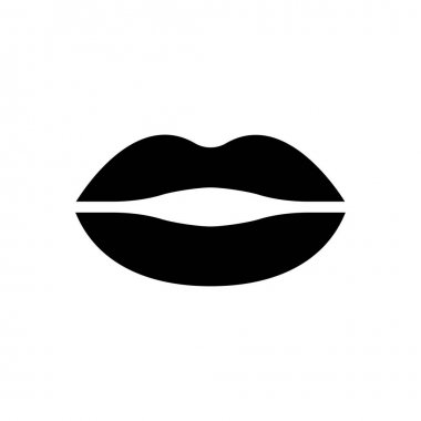 Lips icon for website design and desktop envelopment, development. Premium pack. icon