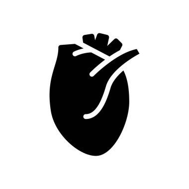 Heart icon for website design and desktop envelopment, development. Premium pack. icon