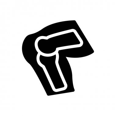 Knee icon for website design and desktop envelopment, development. Premium pack. icon