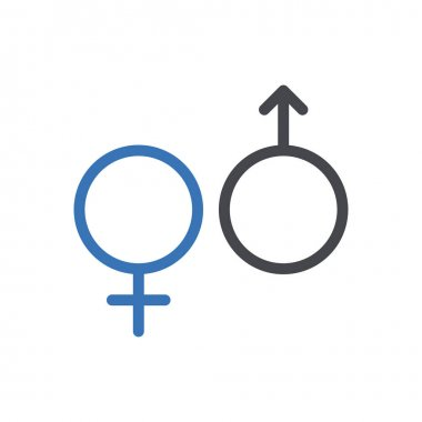 Gender icon for website design and desktop envelopment, development. Premium pack. icon