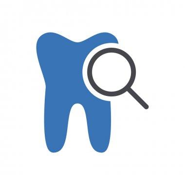 Search teeth icon for website design and desktop envelopment, development. Premium pack. icon