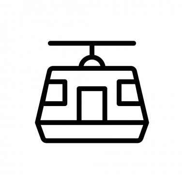Chairlift icon for website design and desktop envelopment, development. Premium pack. icon