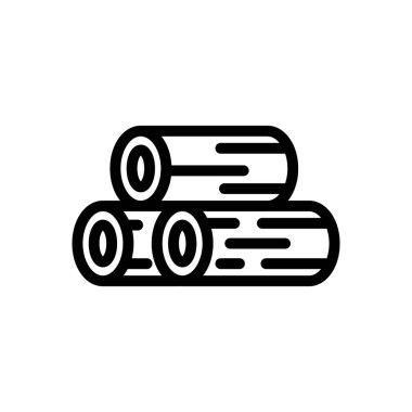 Tree wood icon for website design and desktop envelopment, development. Premium pack. icon