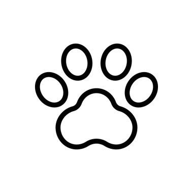 Cat footprint icon for website design and desktop envelopment, development. Premium pack. icon