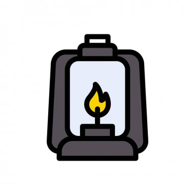 Lantern icon for website design and desktop envelopment, development. Premium pack. icon