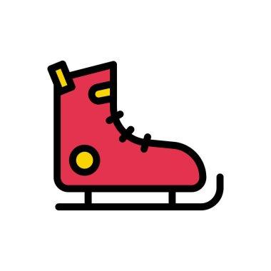 Skating shoe icon for website design and desktop envelopment, development. Premium pack. icon