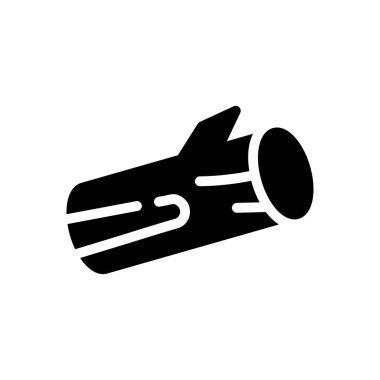 Wood cut icon for website design and desktop envelopment, development. Premium pack. icon