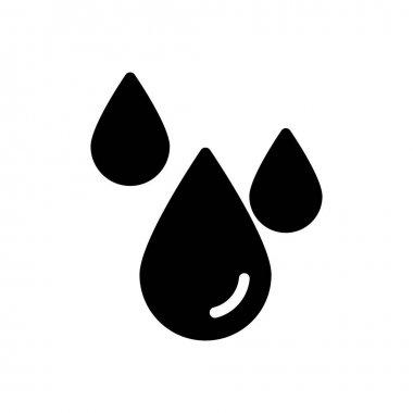 Rain drop icon for website design and desktop envelopment, development. Premium pack. icon