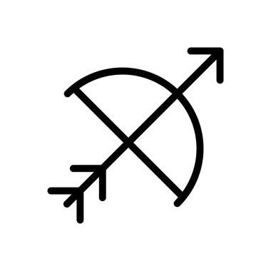 Archery icon for website design and desktop envelopment, development. Premium pack. icon