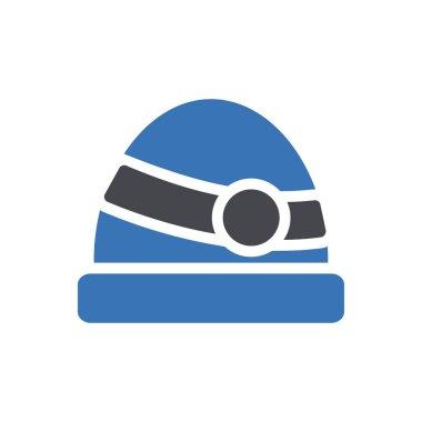 Cap icon for website design and desktop envelopment, development. Premium pack. icon