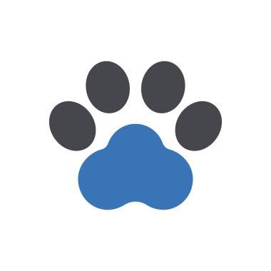 Animal footprint icon for website design and desktop envelopment, development. Premium pack. icon