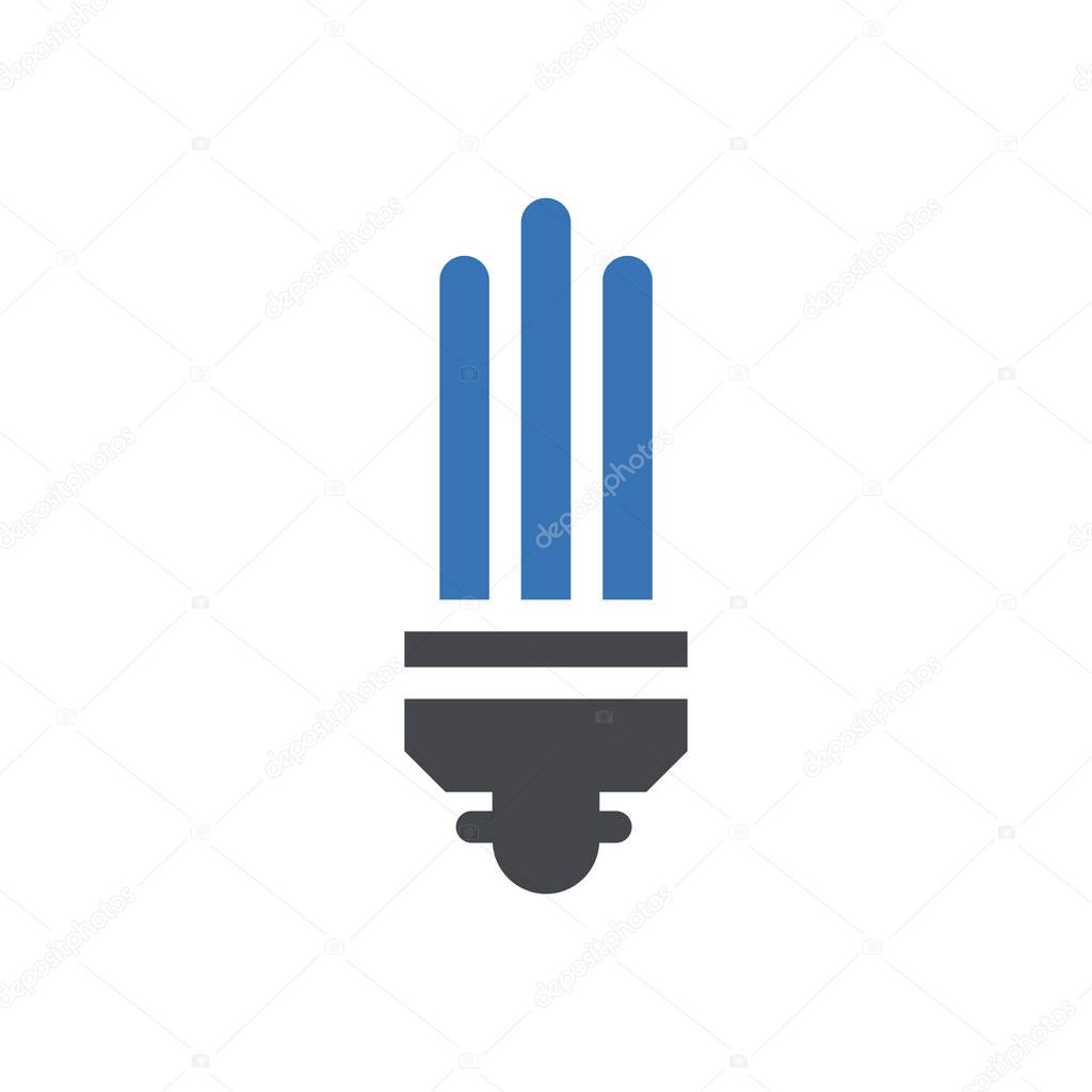 Energy saver  icon for website and Apps design and desktop envelopment  development and Printing icon