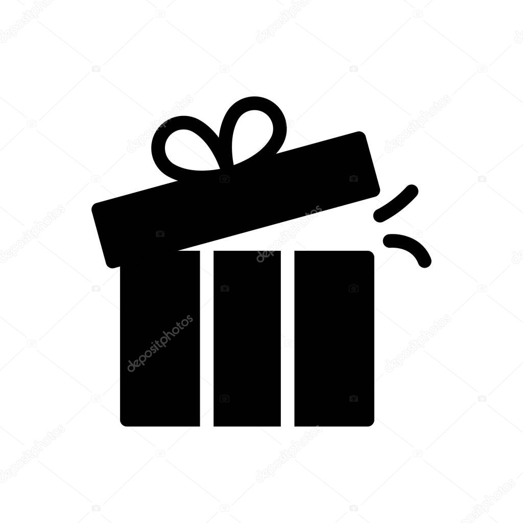 Gift icon for website and Apps design and desktop envelopment  development and Printing icon