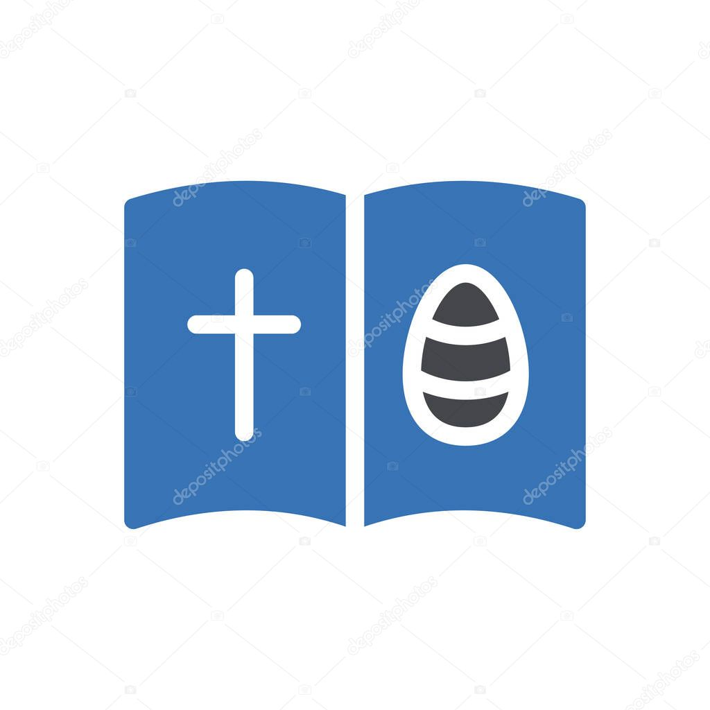 Easter card icon for website and Apps design and desktop envelopment  development and Printing icon