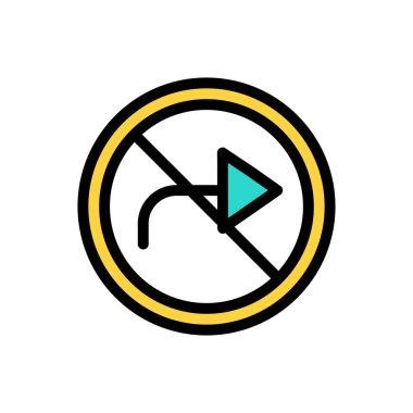 Turn icon for website design and desktop envelopment, development. Premium pack. icon