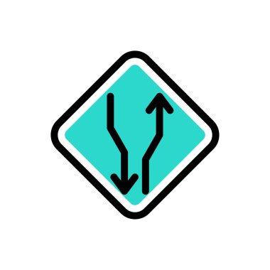 Two way  icon for website design and desktop envelopment, development. Premium pack. icon