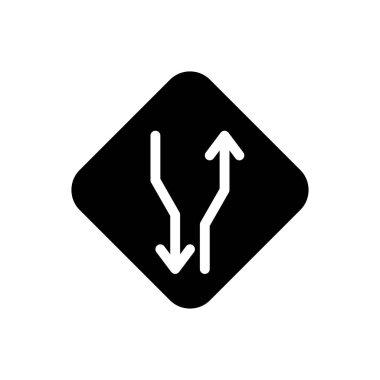 Way icon for website design and desktop envelopment, development. Premium pack. icon