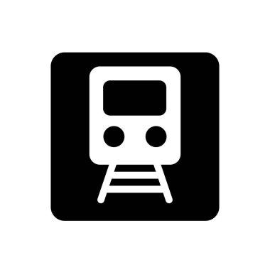 Train icon for website design and desktop envelopment, development. Premium pack. icon