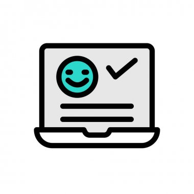 Review icon for website design and desktop envelopment, development. Premium pack. icon