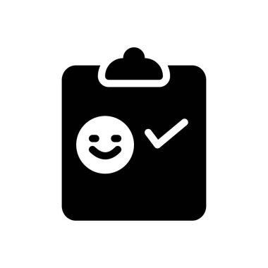Survey icon for website design and desktop envelopment, development. Premium pack. icon