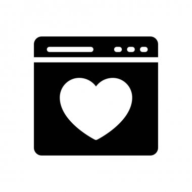 Love icon for website design and desktop envelopment, development. Premium pack. icon