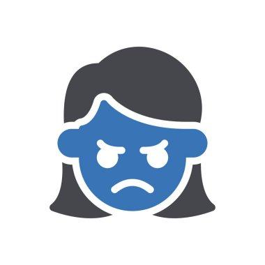 Angry icon for website design and desktop envelopment, development. Premium pack. icon