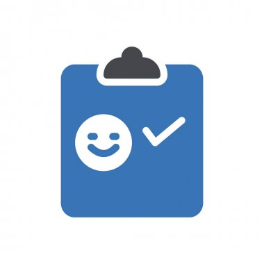 Survey icon for website design and desktop envelopment, development. Premium pack. icon