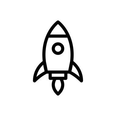 Rocket icon for website design and desktop envelopment, development. Premium pack. icon