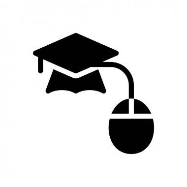 Elearning icon for website design and desktop envelopment, development. Premium pack. icon