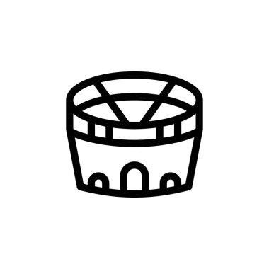 Stadium icon for website design and desktop envelopment, development. Premium pack. icon