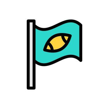 Flag icon for website design and desktop envelopment, development. Premium pack. icon