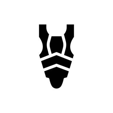 Rugby yardage icon for website design and desktop envelopment, development. Premium pack. icon