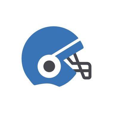Helmet icon for website design and desktop envelopment, development. Premium pack. icon