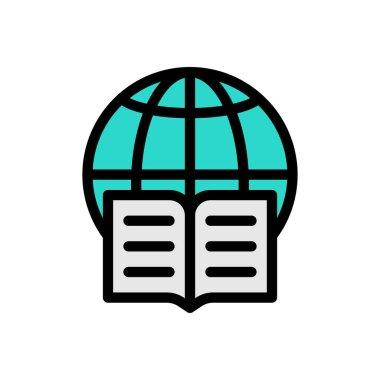 Online reading icon for website design and desktop envelopment, development. Premium pack. icon