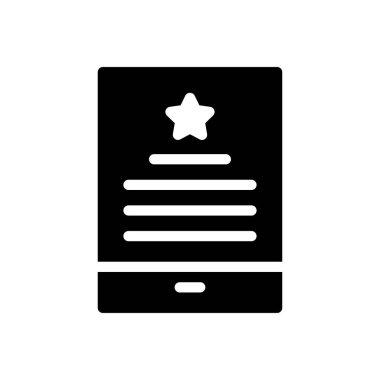 Mobile degree icon for website design and desktop envelopment, development. Premium pack. icon