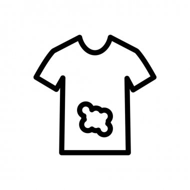 Stains shirt icon for website design and desktop envelopment, development. Premium pack. icon