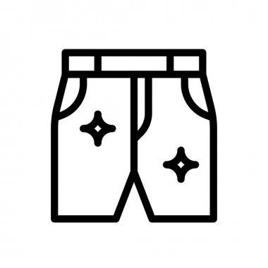 Jeans icon for website design and desktop envelopment, development. Premium pack. icon