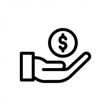 Money Icon for website design and desktop envelopment, development. premium pack icon