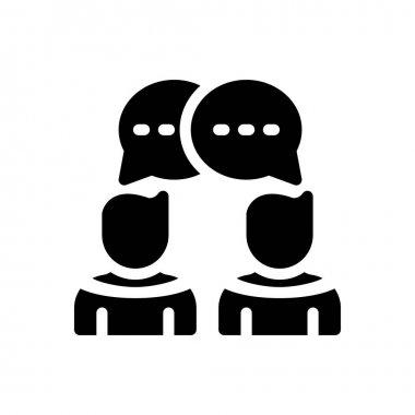 Chat Icon for website design and desktop envelopment, development. premium pack icon