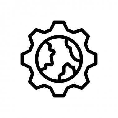 Setting  Icon for website design and desktop envelopment, development. premium pack icon