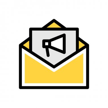 Message Icon for website design and desktop envelopment, development. premium pack icon