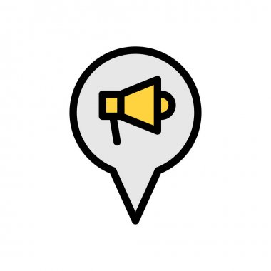 Location Icon for website design and desktop envelopment, development. premium pack icon