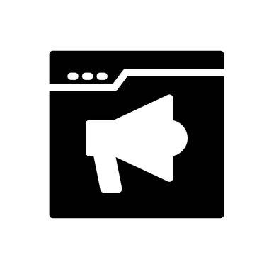 Marketing Icon for website design and desktop envelopment, development. premium pack icon