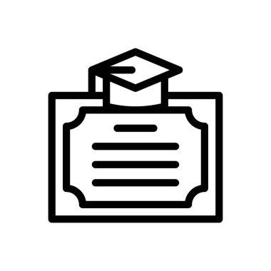 Certificate  Icon for website design and desktop envelopment, development. premium pack icon